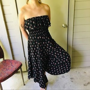 American Rag floral jumpsuit